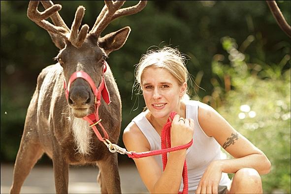 Tiertrainer und Filmtiertrainer