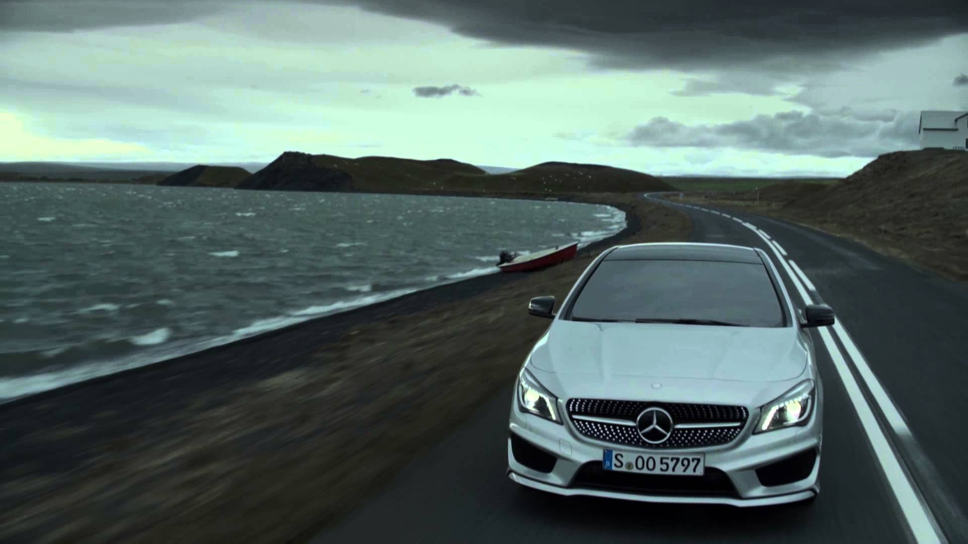 Untamed. The new CLA - Mercedes-Benz original