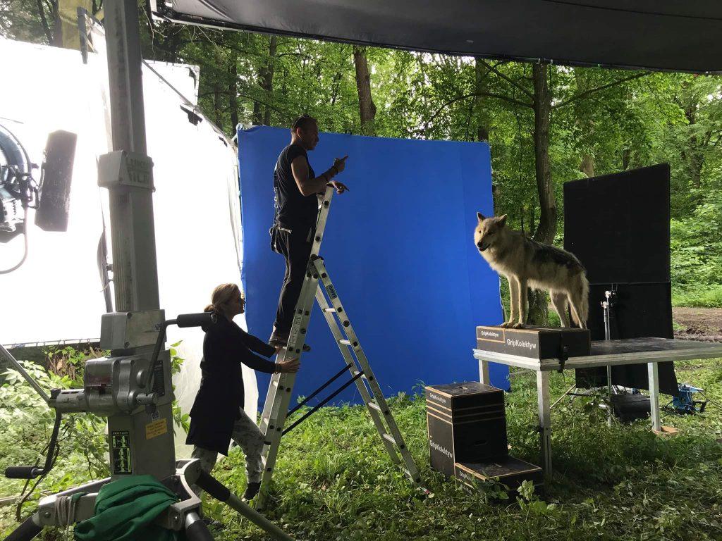 Filmproduktion Bluescreen